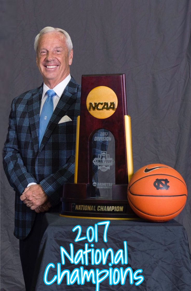 Coach Roy Williams - 2017 National Champion!