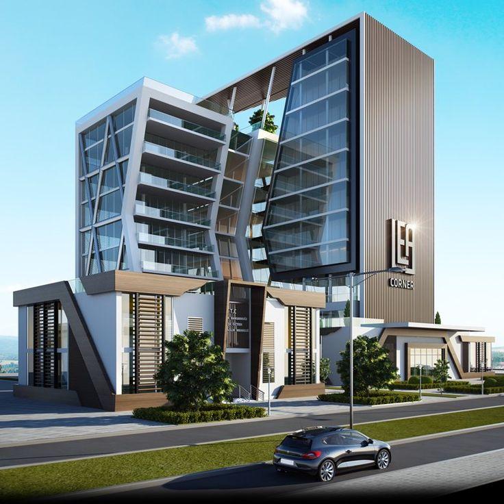 Modern Office Building Design Modern Commercial Building: 44 Best Facade Images On Pinterest