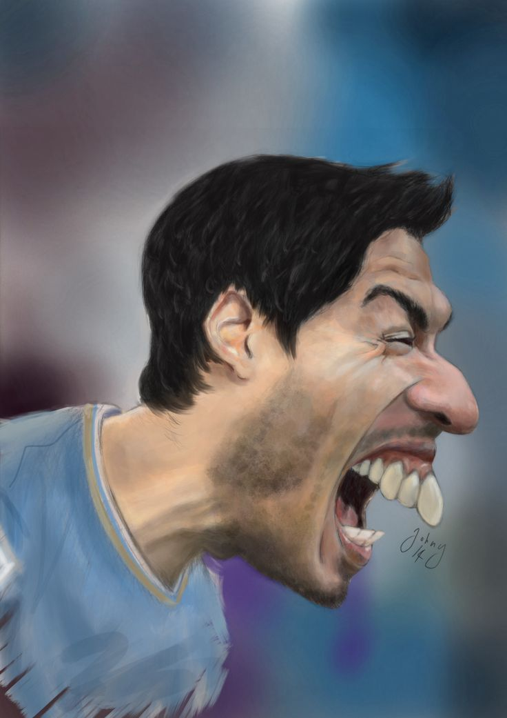 Luis Suarez Ipad Procreate