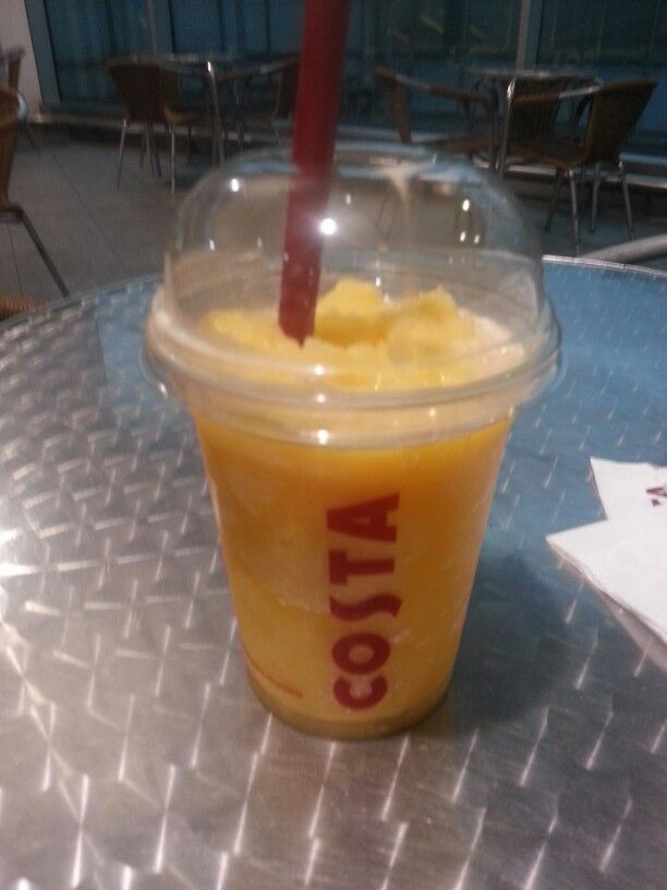 new tropical fruit cooler from costa absolutely devine!!!! healthyish!