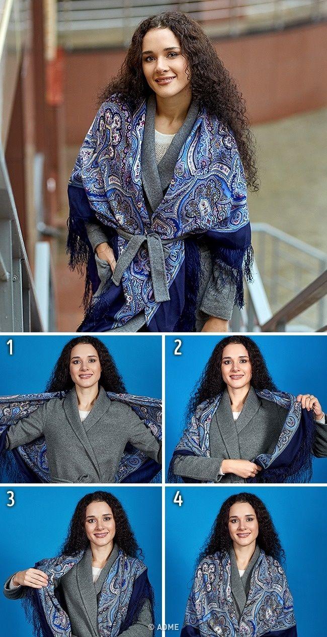5видов шарфов, которые стоит включить восенний гардероб