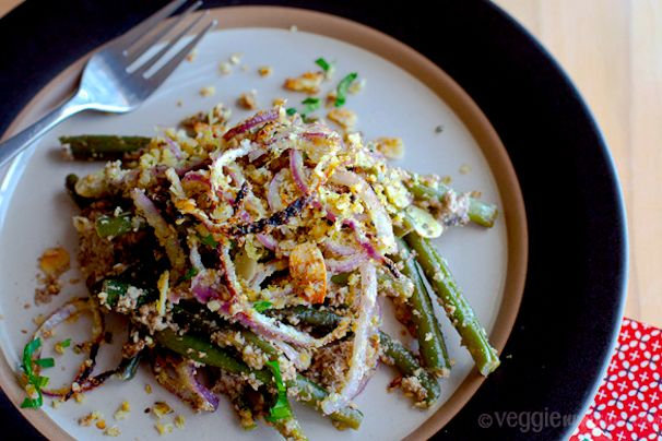 Unique green bean casserole from what would cathy eat