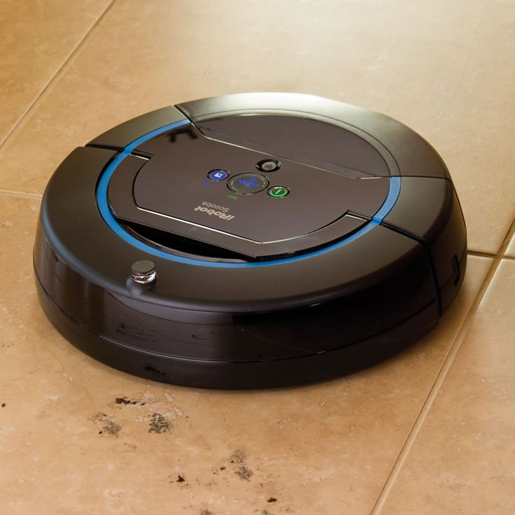 The Robotic Floor Washing Scooba 450 - Hammacher Schlemmer