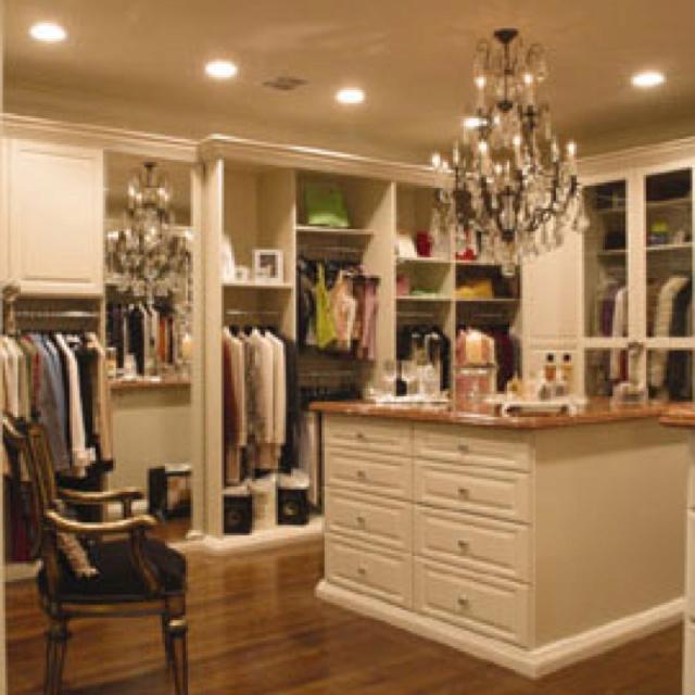 Big Walk In Closets 24 best clothes closet images on pinterest   dresser, closet space