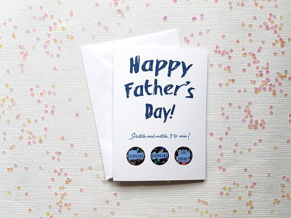 Hey, I found this really awesome Etsy listing at https://www.etsy.com/uk/listing/534056323/funny-fathers-day-scratch-off-card #pregnancyannouncementscratchoff,