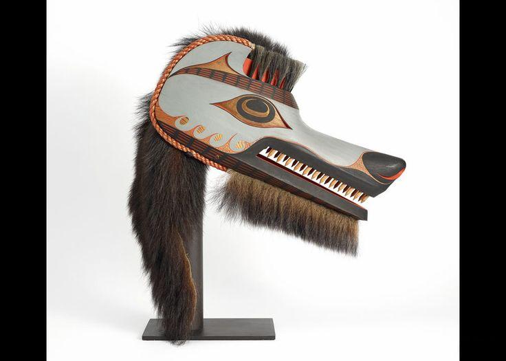 Art Thompson (1948-2003), Wolf Mask, 1989,