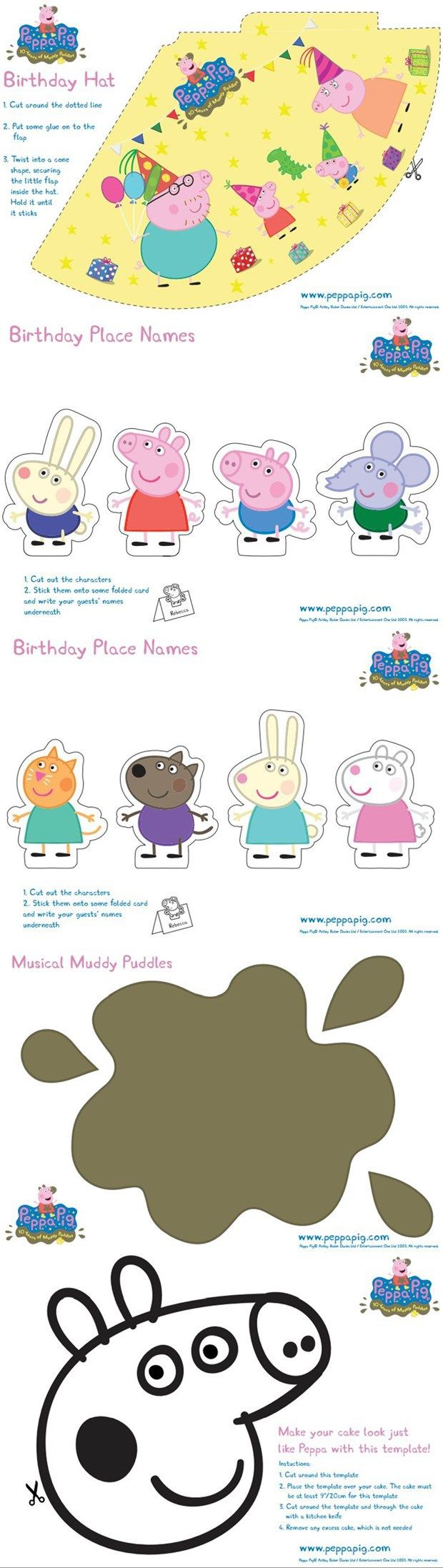 "Top 10 ""Oink Oink"" Peppa Pig Birthday Party Ideas"