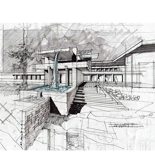 Architectural Drawing Sketch 1363 best 3d hand drawn architectural images on pinterest
