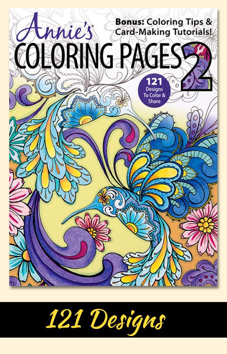 Annie\'s coloring pages 2, with 121 designs will inspire and spark ...