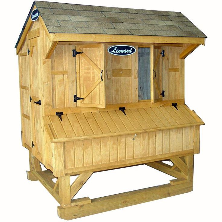 Simple Chicken Coop Plans - Cheap Chicken Coop