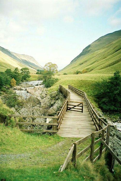 River Tilt Bridge, Blair Atholl, Scotland on We Heart It - http://weheartit.com/entry/223467707