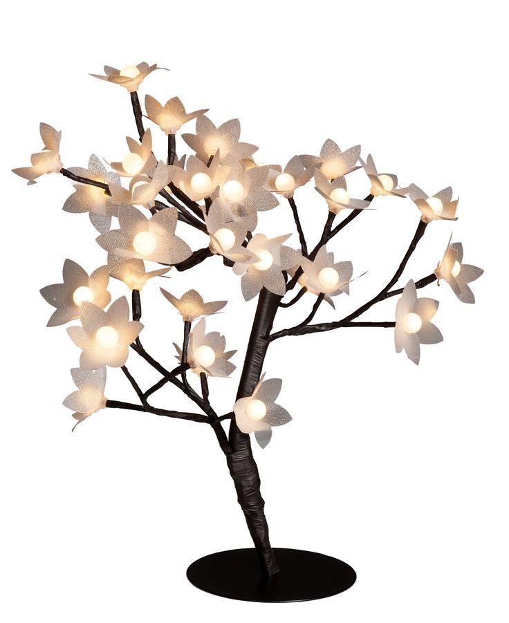 #lampe #lumiere #noel #decoration #arbre Objet lumineux ARBRE FLEURS Noir - BUT