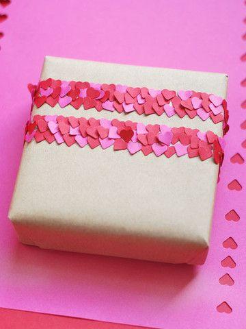 Heart confetti tape   Papermash