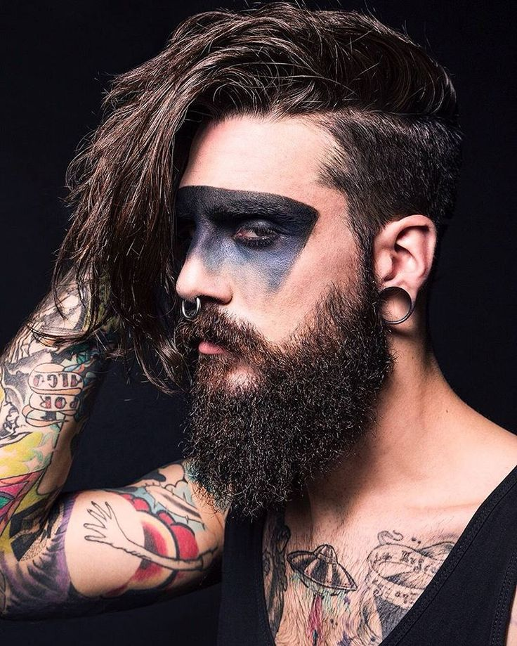 87 best Tattoo & Beard images on Pinterest | Beards, Beard tattoo ...