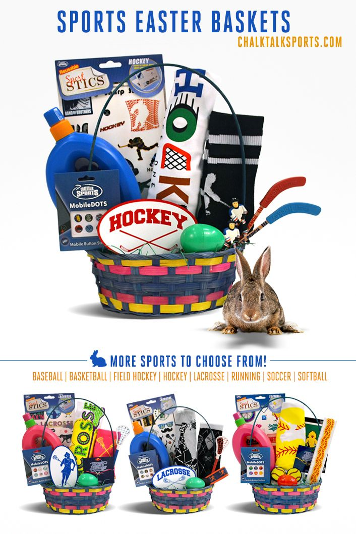 79 best sports easter baskets images on pinterest easter baskets a great gift for any hockey player for easter only at chalktalksports negle Choice Image