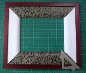 coupes d'angle sur papier