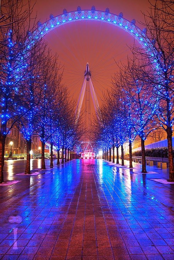 #neverhaveiever seen the streets of London from the glowing London Eye. @StudentUniverse