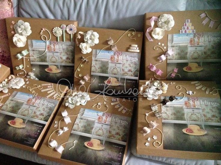 Cosa conterranno queste scrapbook per futuri wedding planner?