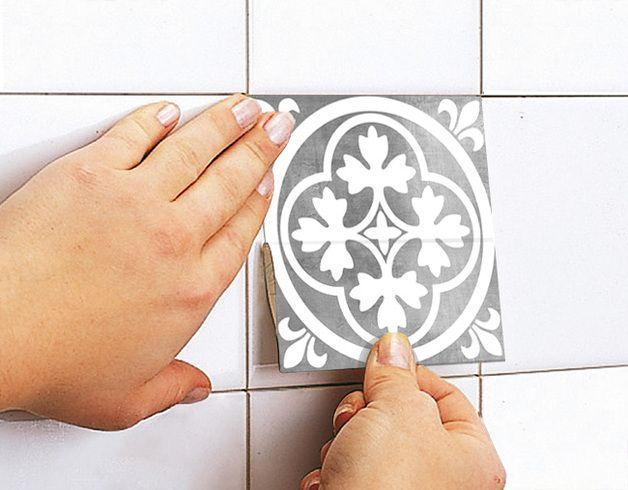 Décorations murales, Stickers Art Carrelage de Décoration de Luxe est une création orginale de Wall-Decals sur DaWanda
