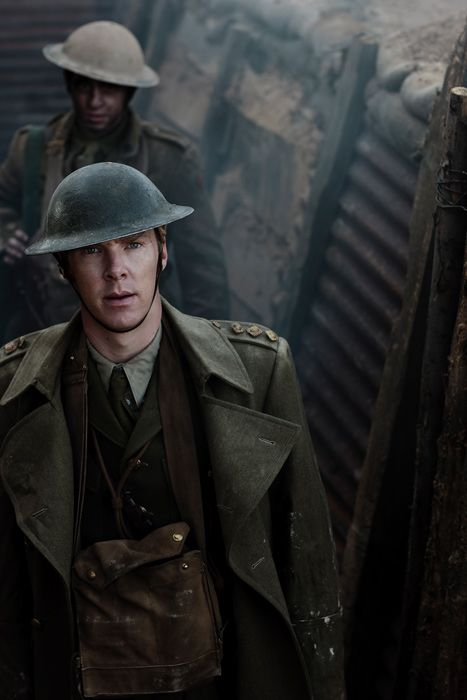 """Benedict Cumberbatch in the BBC series """"Parade's End"""". It's like Sherlock in Downton Abbey."""