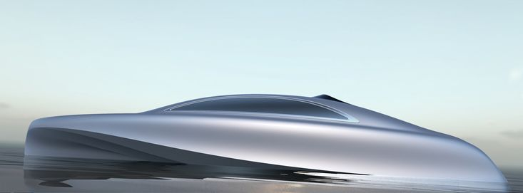 Motor yacht design by Mercedes-Benz Style – marine mobility to aesthetic perfection.