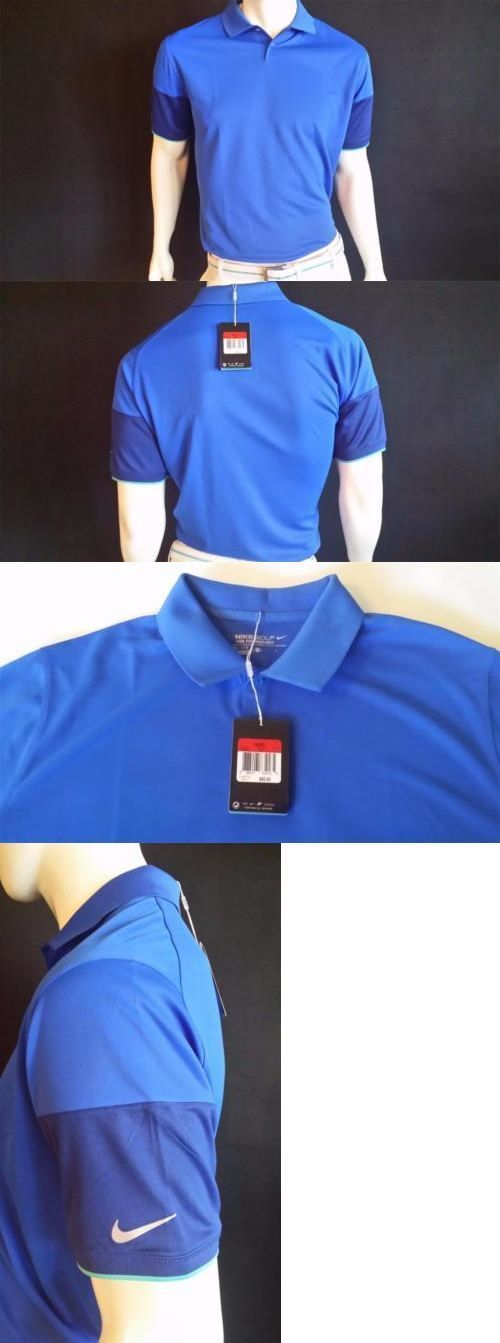Other Mens Golf Clothing 181141: Nike Major Moment Commando Short Sl Polo Golf Shirt Style# 639933 (Large) $70.00 -> BUY IT NOW ONLY: $35 on eBay! #CoolGolfEquipment
