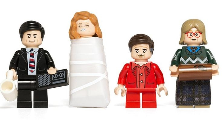 TWIN PEAKS Inspired Custom LEGO Mini Figures Are Just Too Dreamy