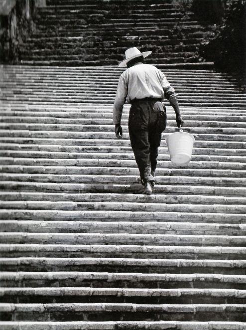 """De subida, Morelos.- 1985 """"Foto: Enrique Segarra """""""