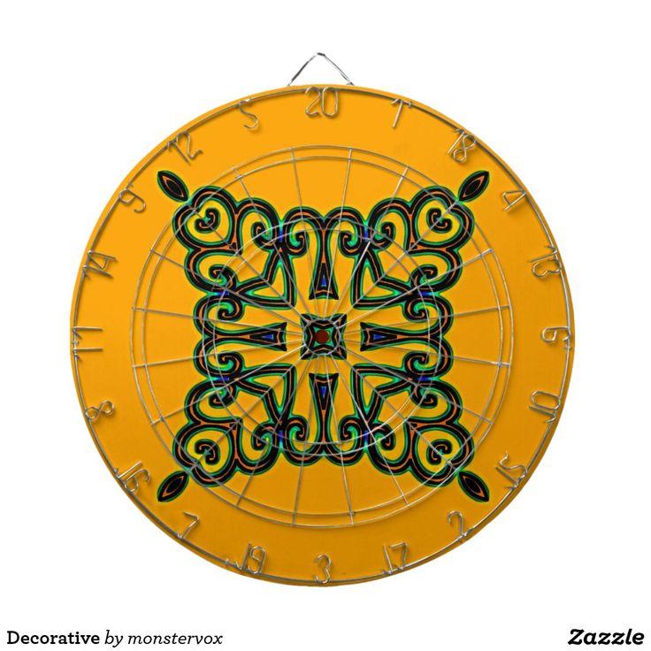 Decorative Dartboards #Decorative #Ornament #Design #Art #Game #DartBoard