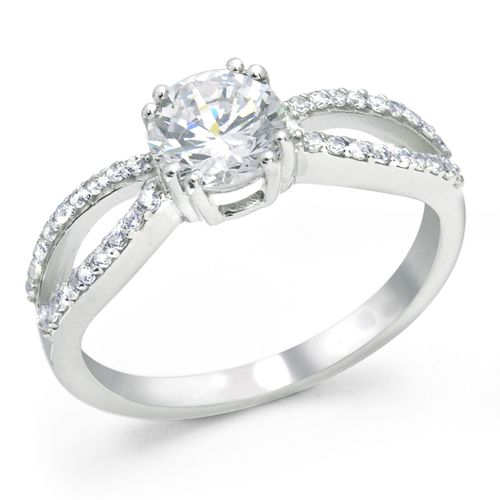 98 Best Sterling Silver Diamond Engagement Rings Images On