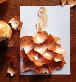 """zhannadesignfromart: платье """"луковая шелуха"""""""