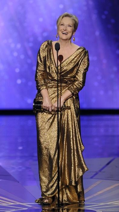 Academy Award Winner: Meryl Streep -  Actress in Leading Role - THE IRON LADY.