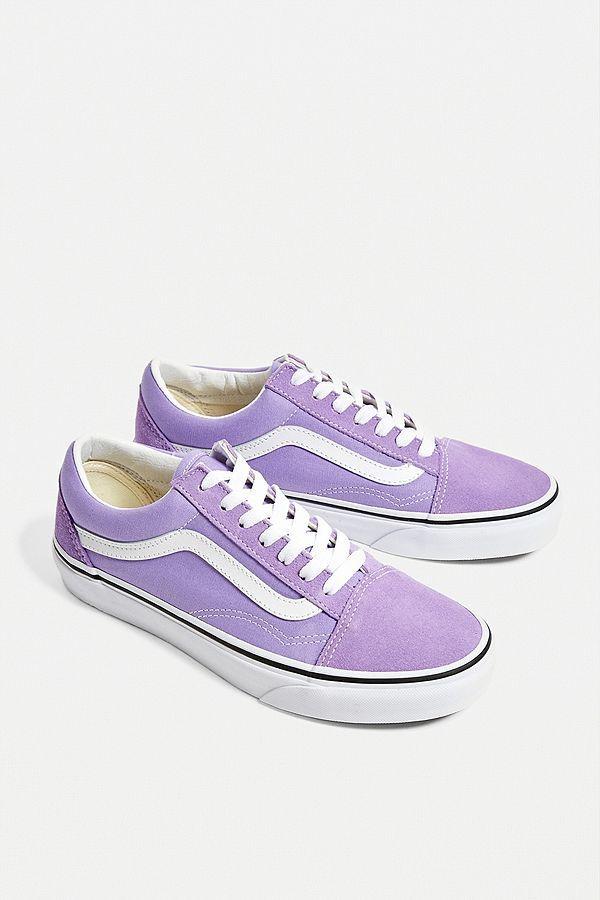 Vans - Baskets Old Skool lilas | Vans shoes women, Vans old skool ...