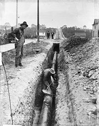 vintage pipeline welding pictures | Pipeline Construction - RitchieWiki