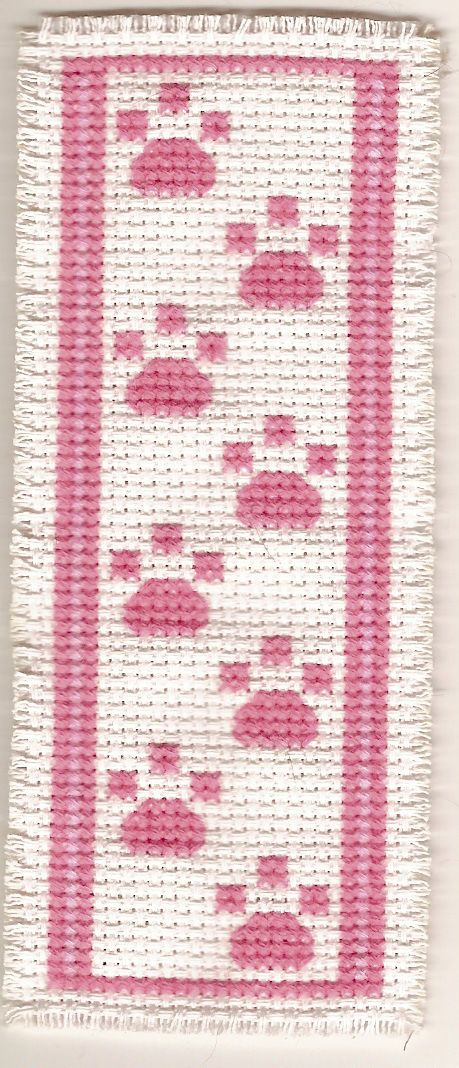 Book mark - simple cross stitch                                                                                                                                                                                 More