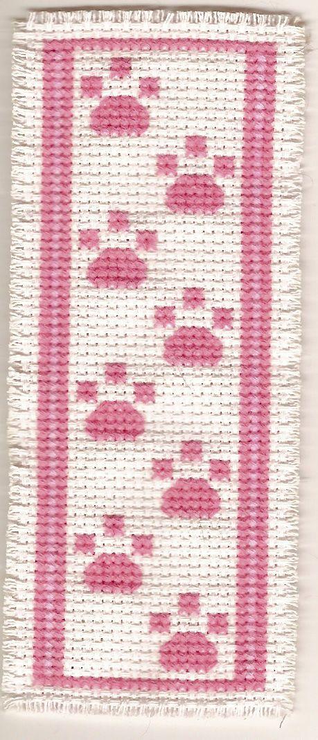 Book mark - simple cross stitch