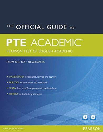 The Official Guide to PTE Academic (Pearson Test of English Academic) (Pearson Tests of English)