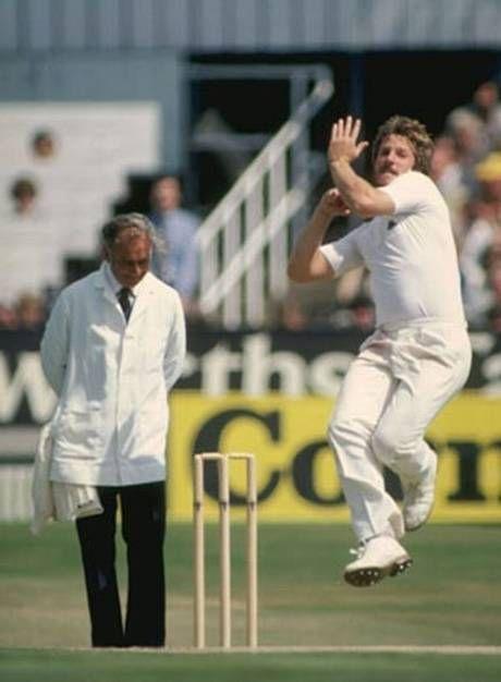 cricket - ian botham bowling