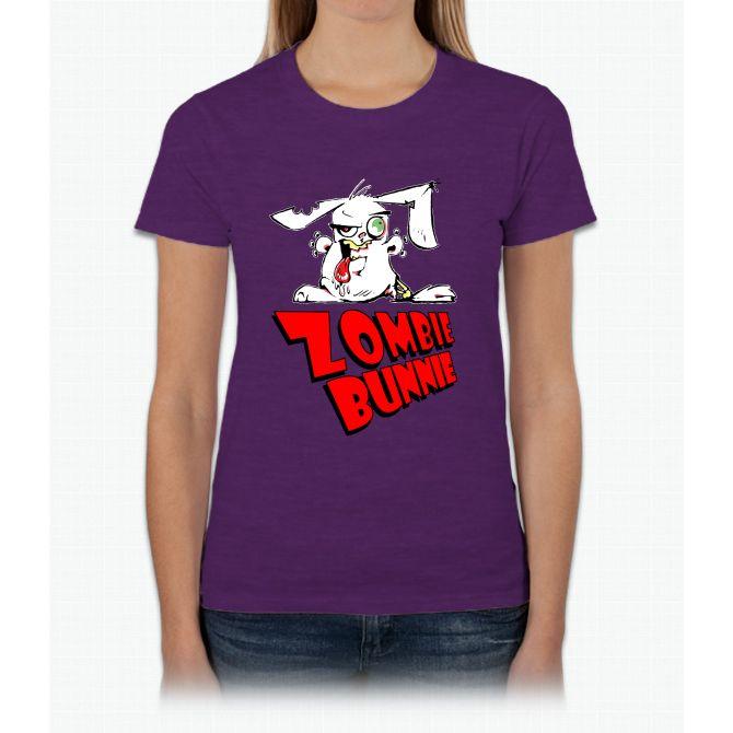 Zombie Bunnie Tee Womens T-Shirt