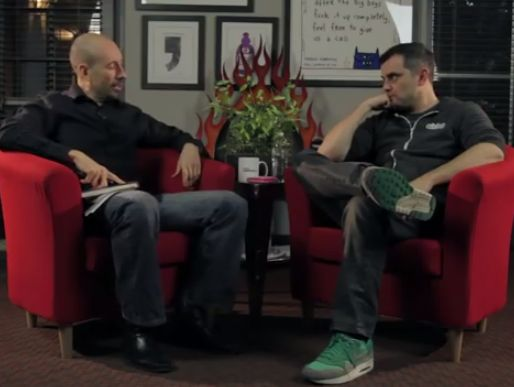 "Joe Polish interviews Gary Vaynerchuk In this #MUSTWATCH video Joe Polish interviews Gary Vaynerchuk on ""jab, jab, jab, right hook"" and more… #SocialMediaMarketing #SuccessStories"