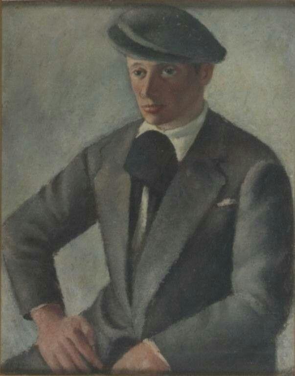 Ritratto del pittore Mariotti 1927 fondazione cassa di risparmio di Pistoia e Pescia