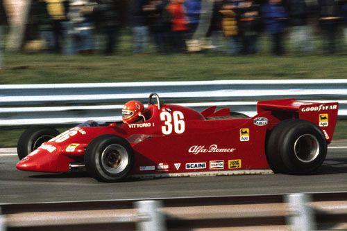 Vittorio Brambilla Alfa Romeo 179 1979