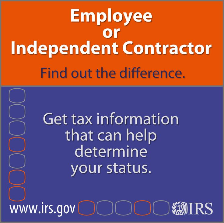 296 best Internal Revenue Service - Income Taxes images on - differences employee independent contractor