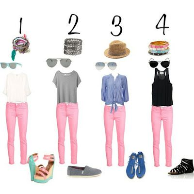 The Average Girl's Guide to Fabulous: How to Wear Pink Jeans