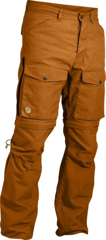 Don't like the zip to shorts; love the cargo pockets in front. FjallRaven Gaiter Trousers No.1