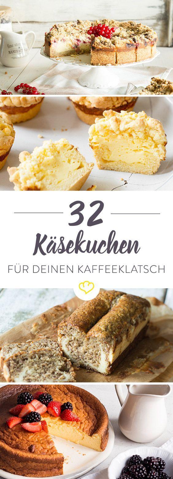 32 raffinierte Käsekuchen, die jeder kennen sollte