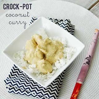 Carissa Miss: Crock Pot Recipe: Coconut Curry Chicken
