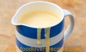 Crème pâtissière / Tuisgemaakte Vla