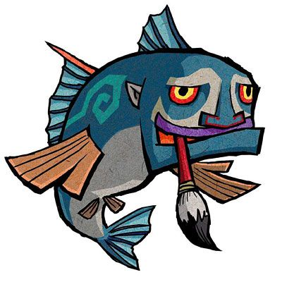 Windwaker is one of my favorite games of all time, and definitely in the Top 3 of my favorite Zelda games. And as weird as it is, these little guys were one of the best parts.  ---    Zelda: Windwaker