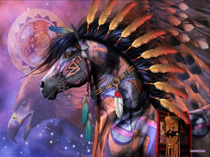 As a Native American symbol, the Horse combines the grounded power of the earth with the wisdom found in the spirit winds.